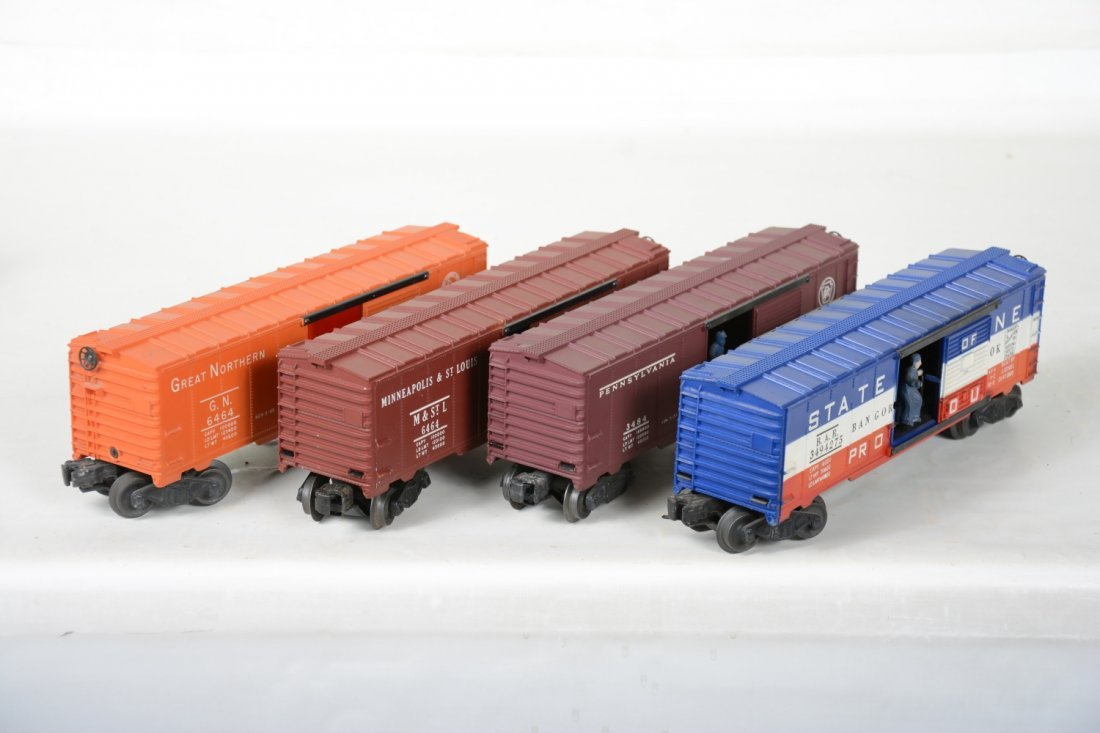 Boxed Lionel 6464 Style Boxcars - 6