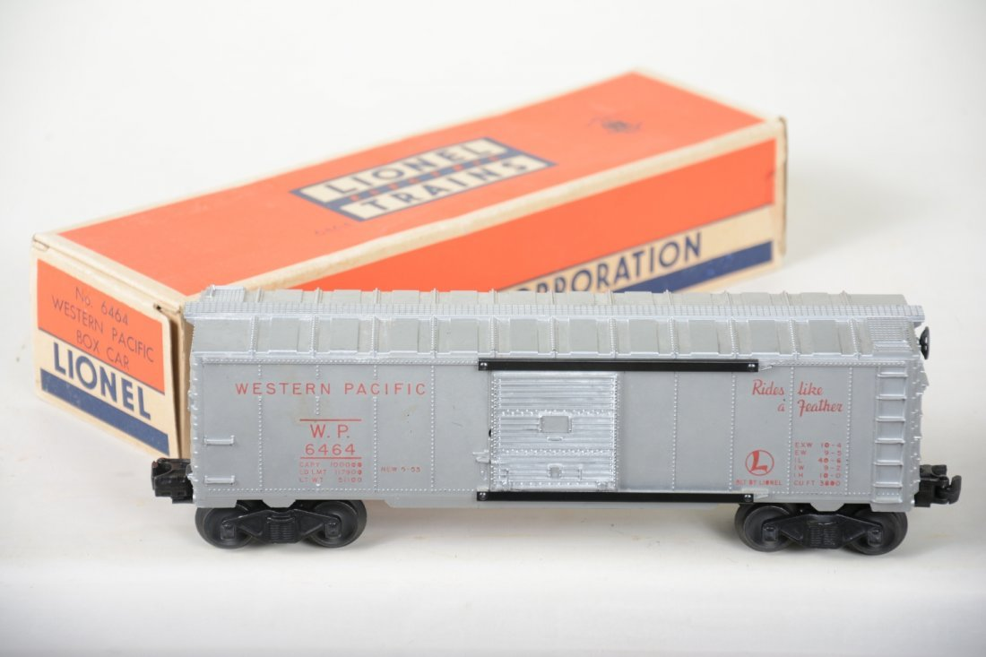 Rare Boxed Lionel 6464-1 WP Red Lettered Boxcar