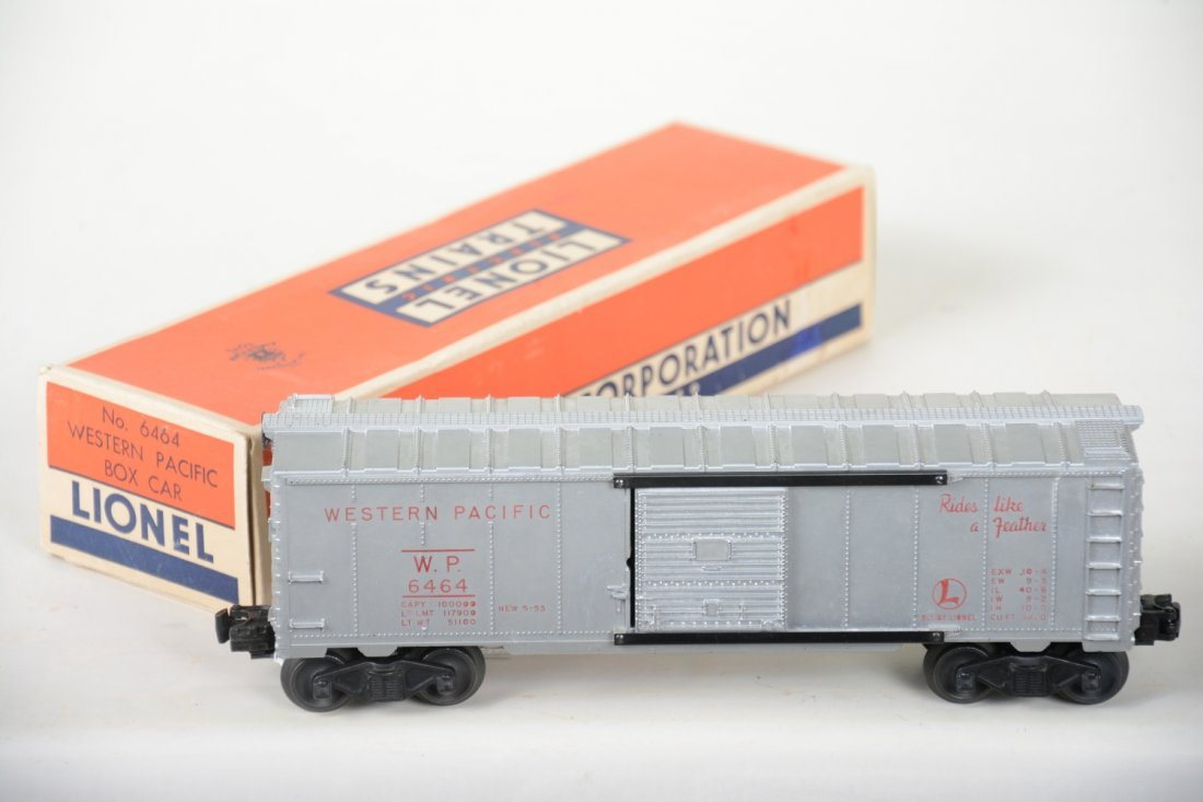 Rare Boxed Lionel 6464-1 WP Red Lettered Boxcar - 2