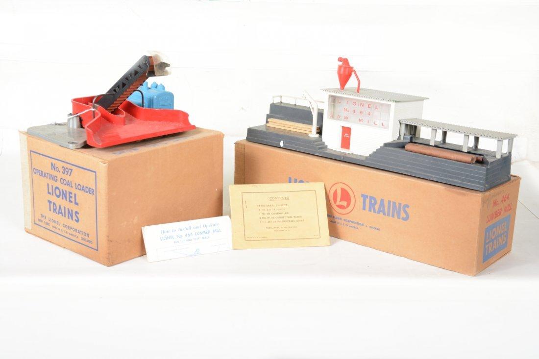 Boxed Lionel 397 & 464 Accessories