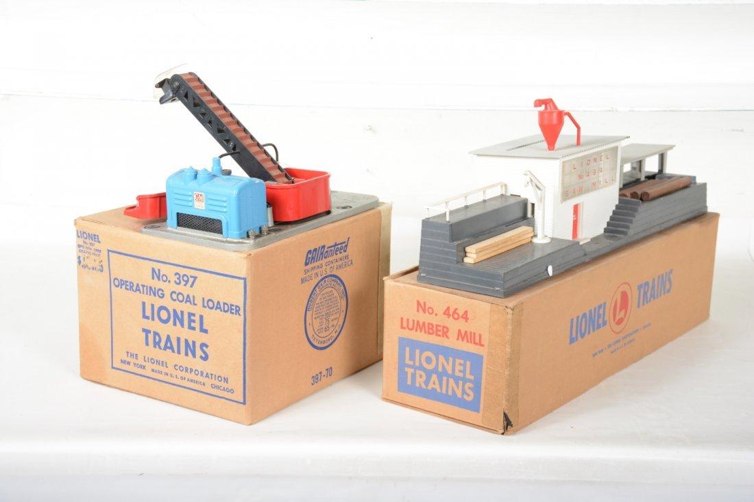Boxed Lionel 397 & 464 Accessories - 2