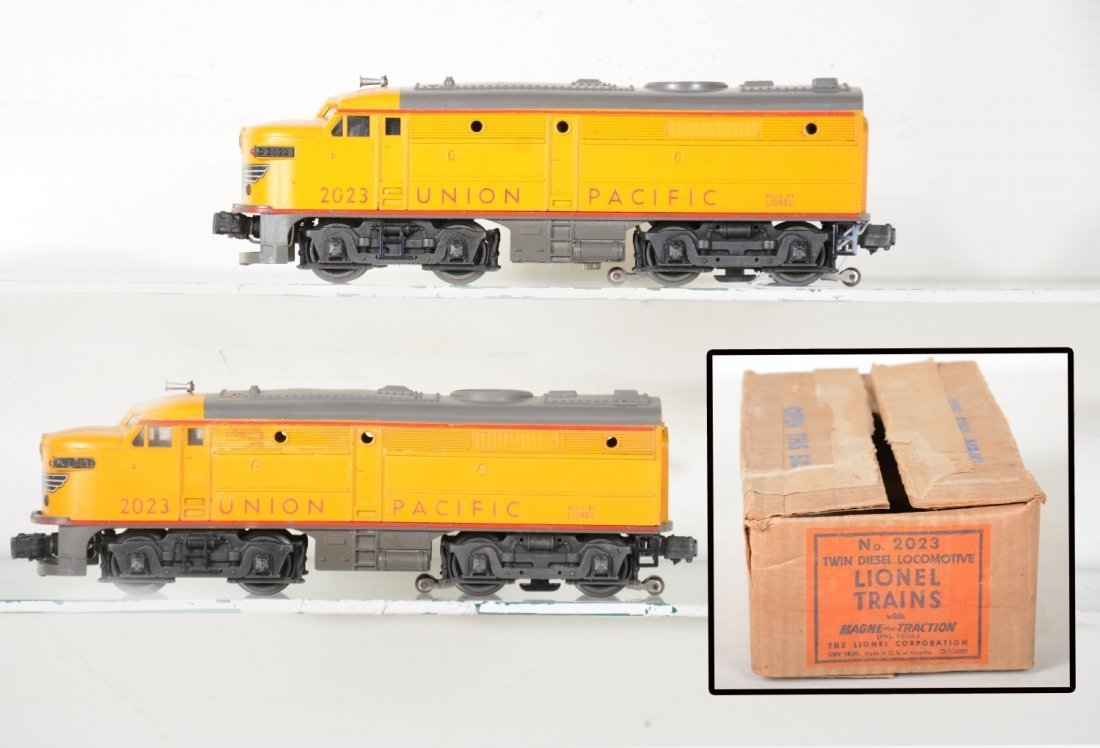 Boxed Lionel 2023 Anniversary Alco Diesels