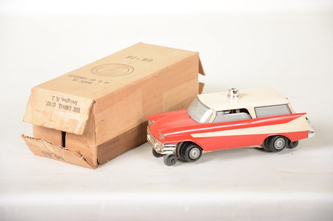 Boxed Lionel 68 Inspection Car