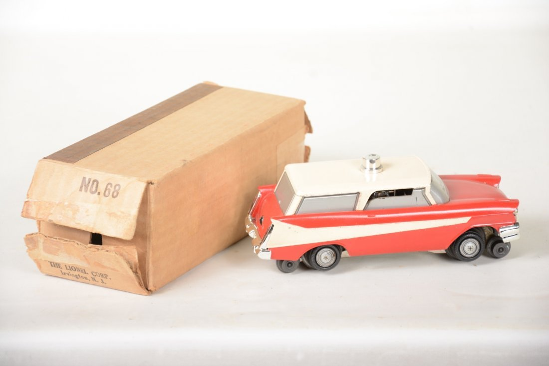 Boxed Lionel 68 Inspection Car - 2
