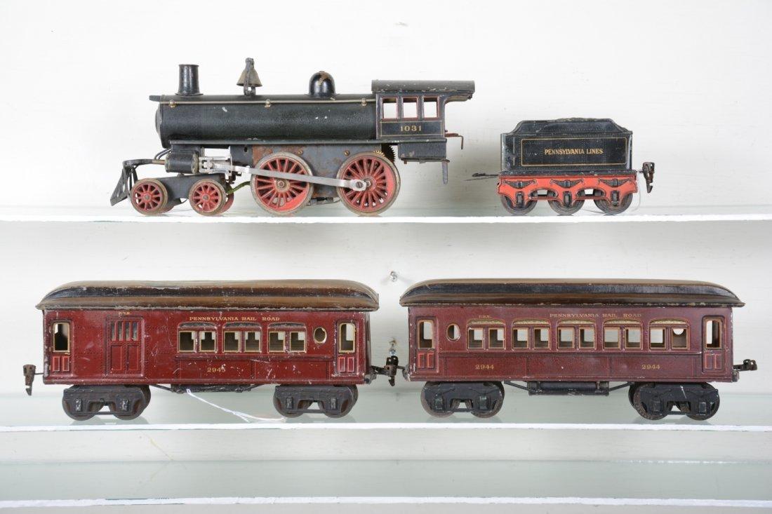 Marklin 1031 PRR Mixed Steam Passenger Set