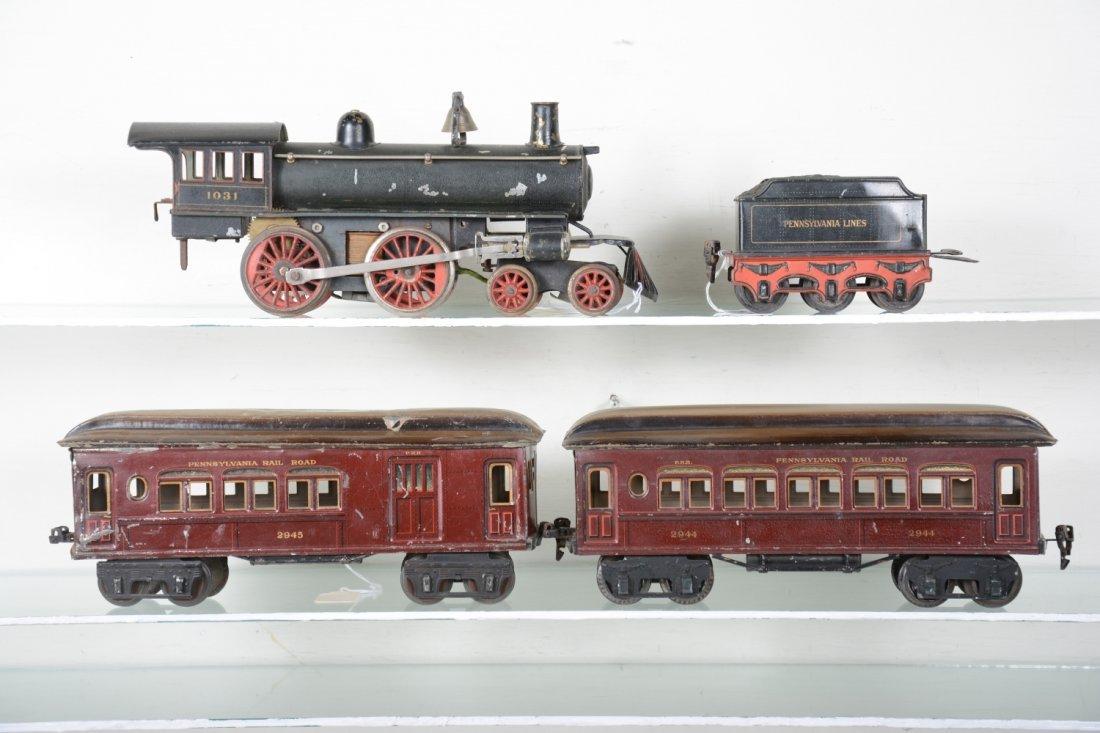Marklin 1031 PRR Mixed Steam Passenger Set - 2
