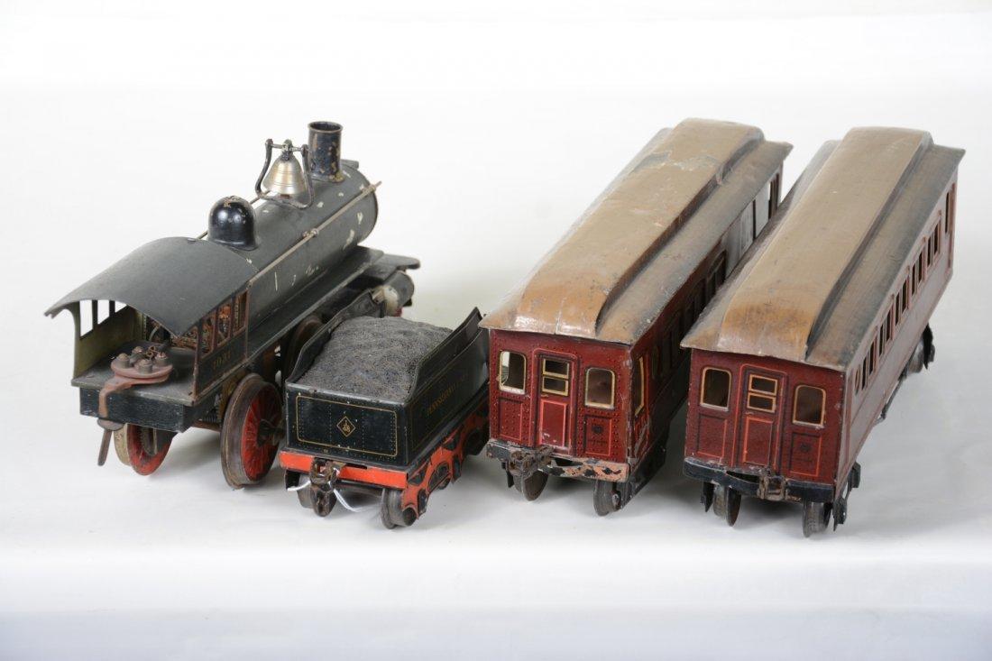 Marklin 1031 PRR Mixed Steam Passenger Set - 4