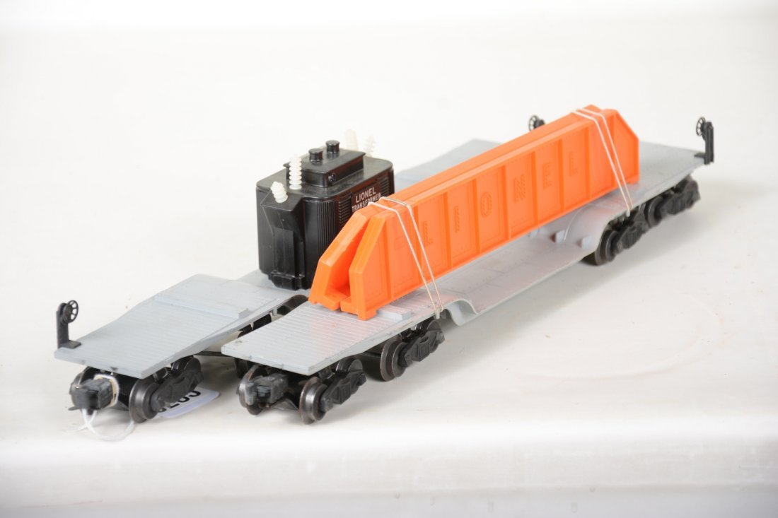 Clean Boxed Lionel 6518 & 6418 Flat Cars - 4