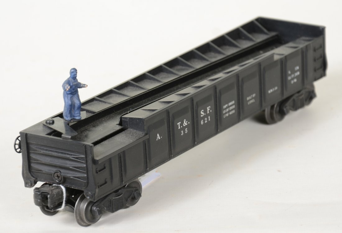 Super Boxed Lionel Black 3562 Barrel Car - 5