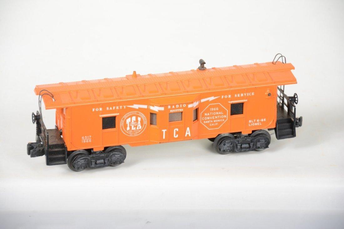 NMINT Lionel 6417-60 TCA Baywindow Caboose