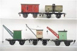 4 Kraus Fandor 15cm Freight Cars