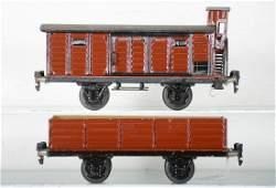 Nice Marklin 23cm Freight Cars