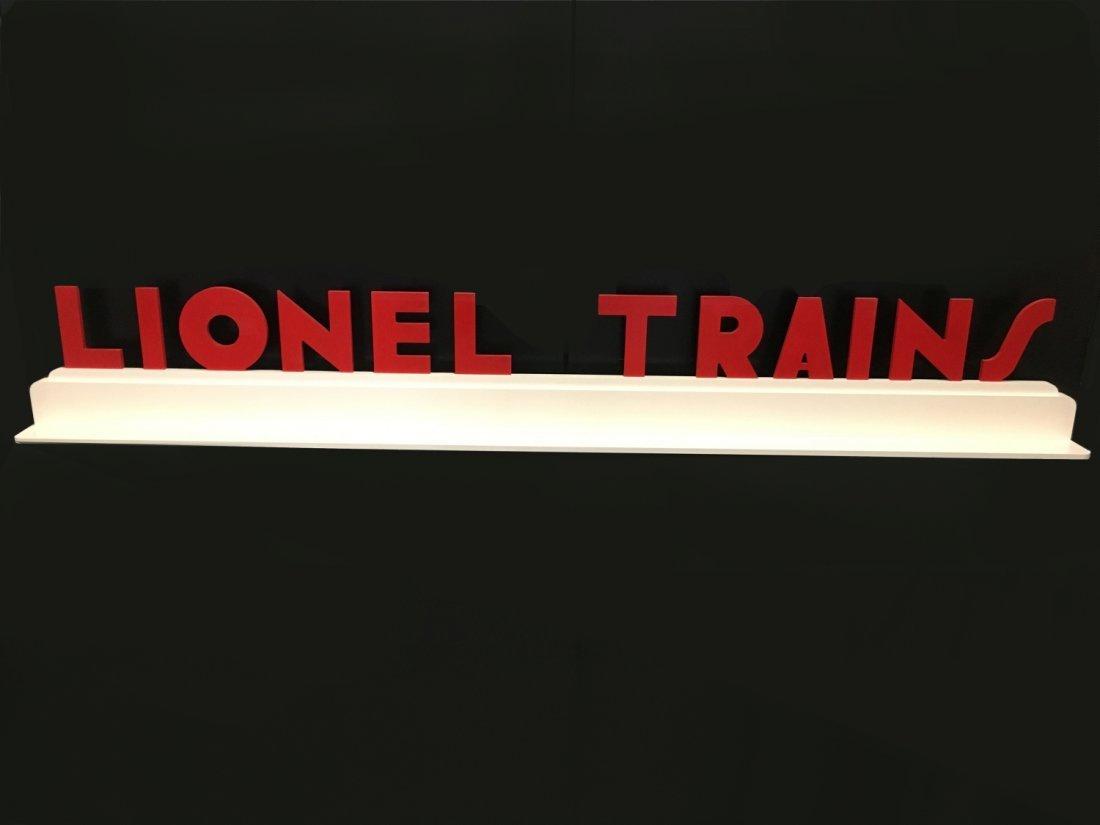 Modern Lionel Deco Style Display