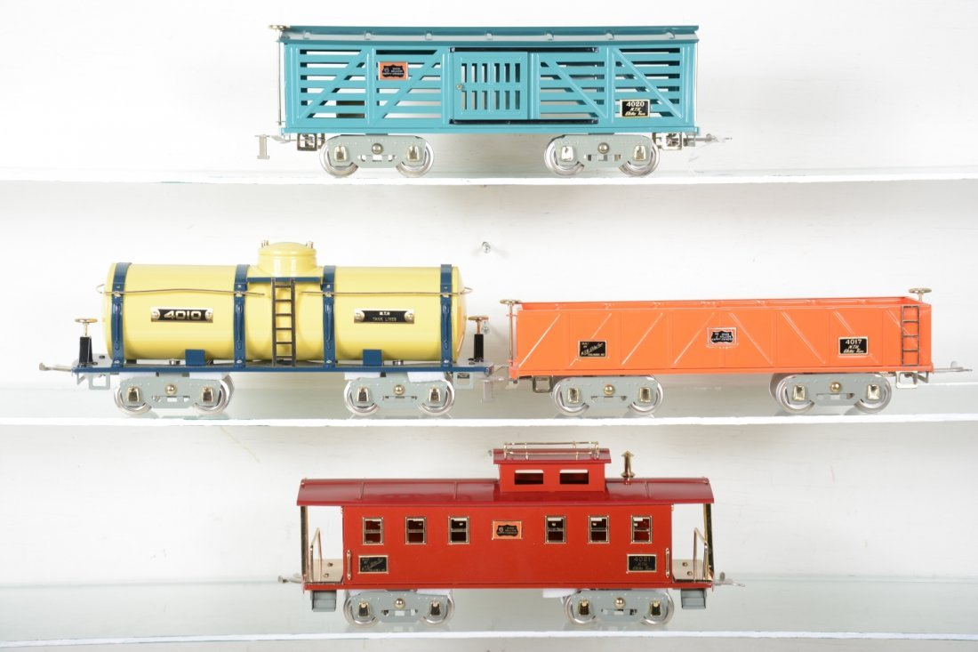 4 MTH American Flyer Freight Cars