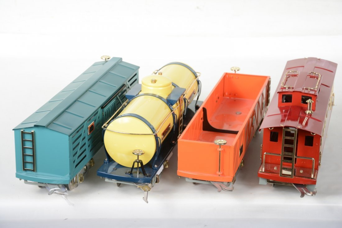 4 MTH American Flyer Freight Cars - 3