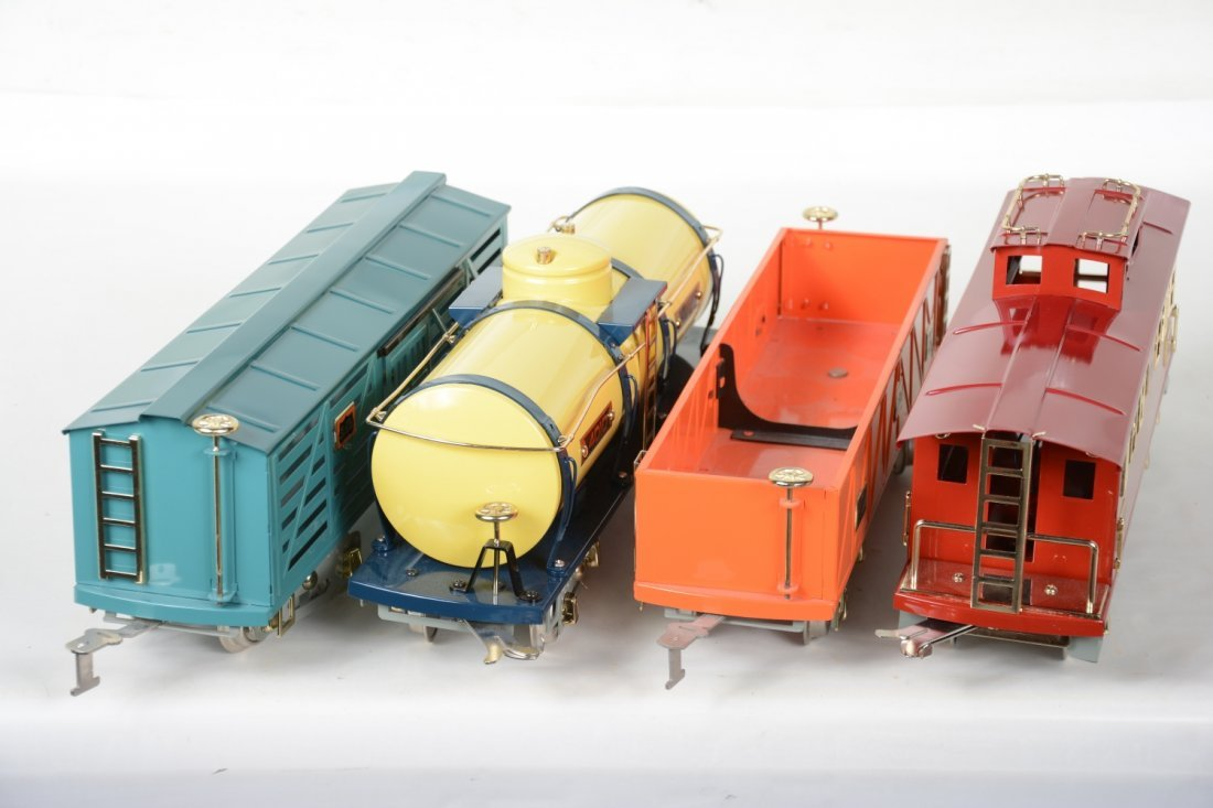 4 MTH American Flyer Freight Cars - 4