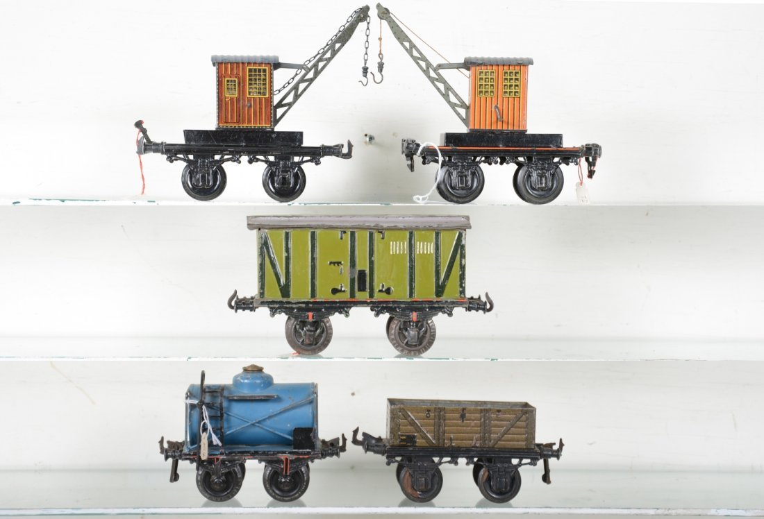5 Bing Freight Cars