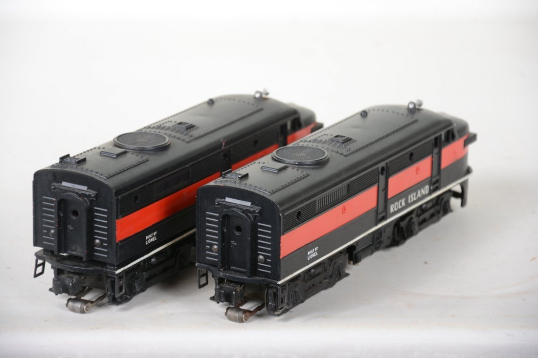 Clean Lionel 2031 RI Alco AA Diesels - 4