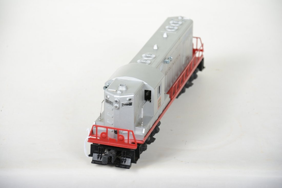 Super Boxed Lionel 2328 Burlington GP7 Diesel - 3