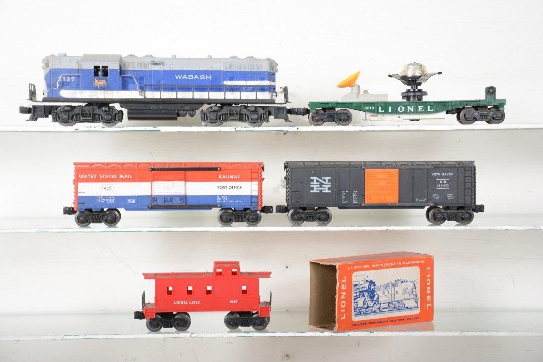 Lionel 2337 Wabash Diesel Freight Set