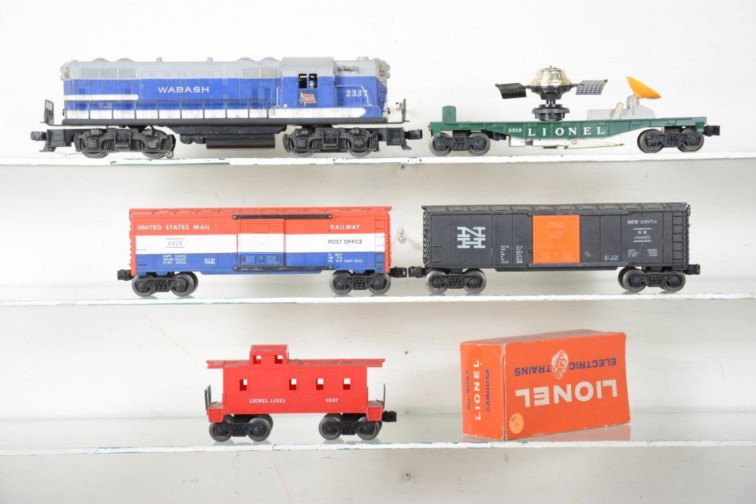 Lionel 2337 Wabash Diesel Freight Set - 2