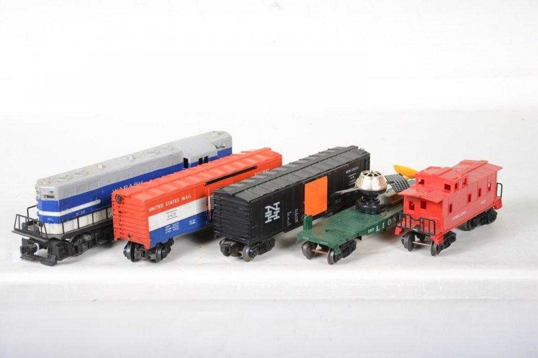 Lionel 2337 Wabash Diesel Freight Set - 3