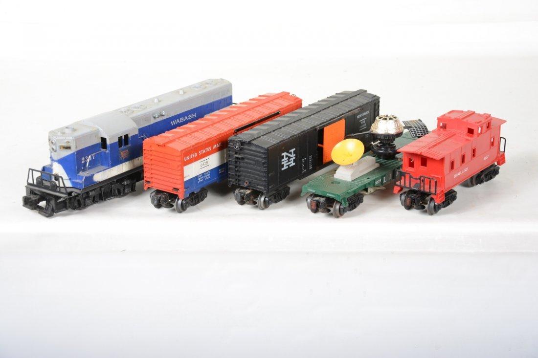 Lionel 2337 Wabash Diesel Freight Set - 4
