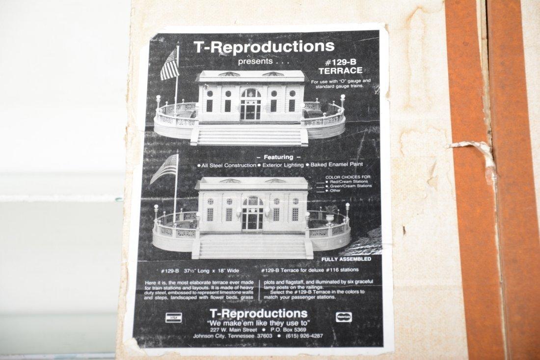 T-Repro Lionel 129 Terrace & Station - 3