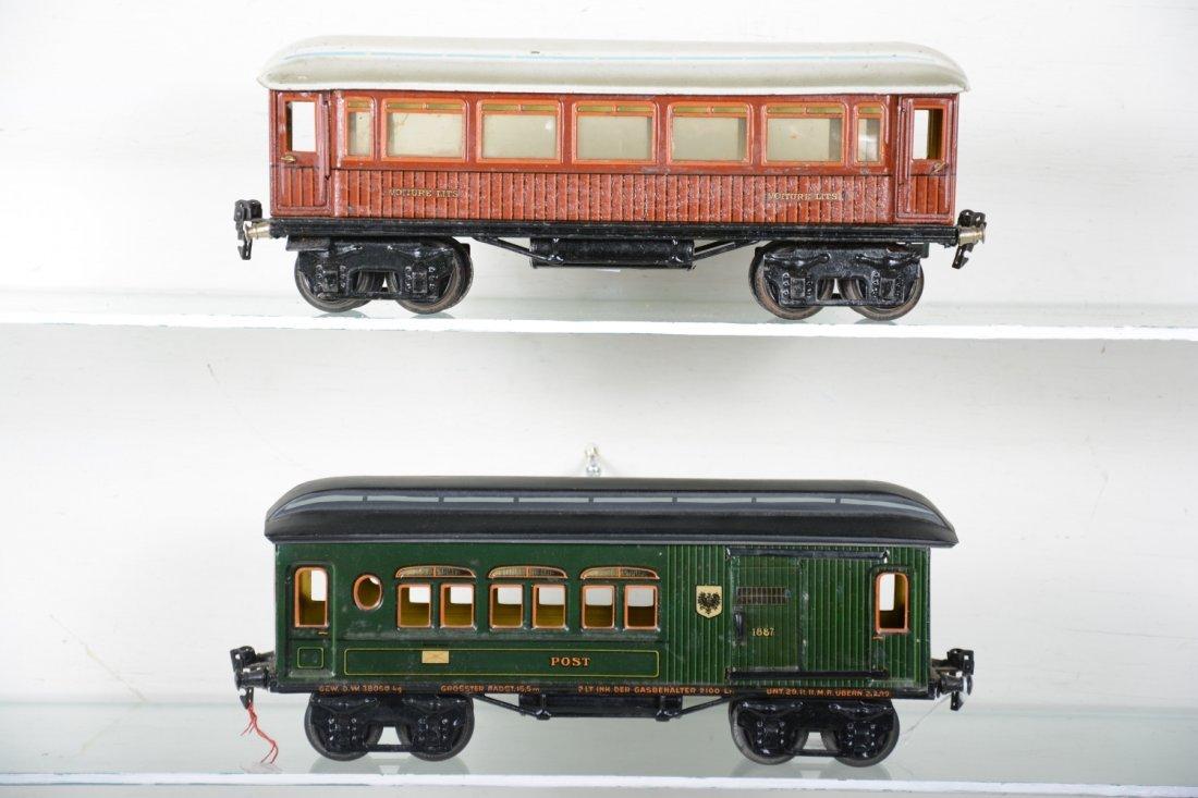 33cm Marklin 1887 & (1894) Passenger Cars