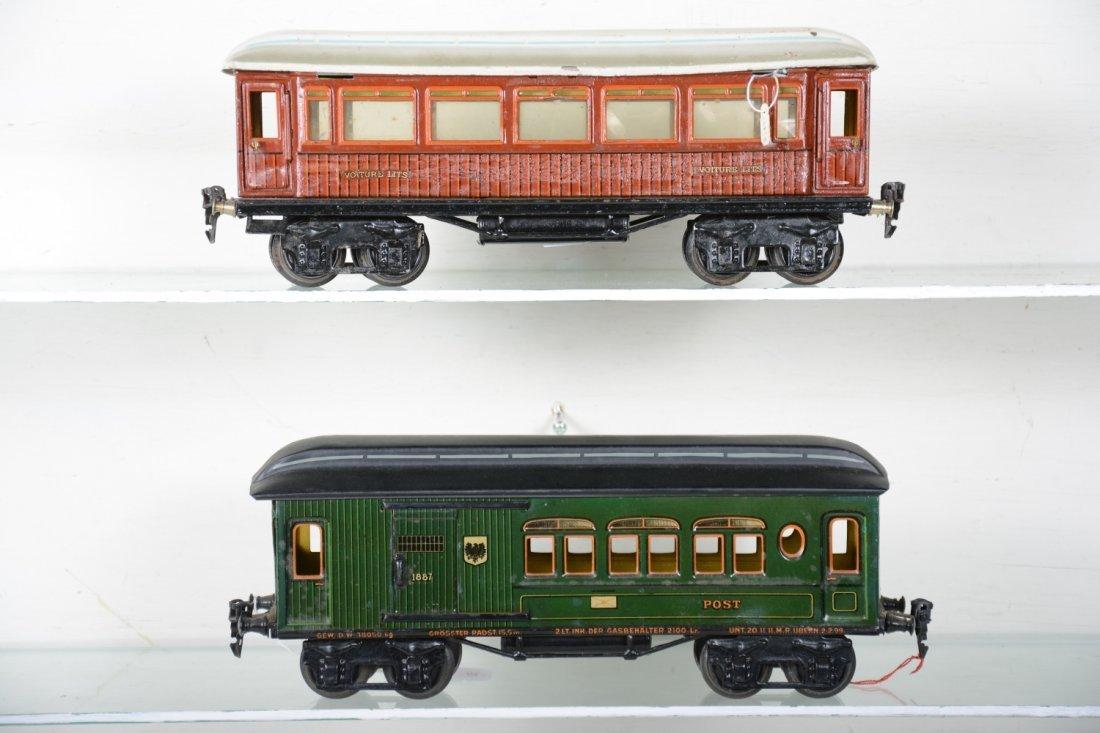 33cm Marklin 1887 & (1894) Passenger Cars - 2