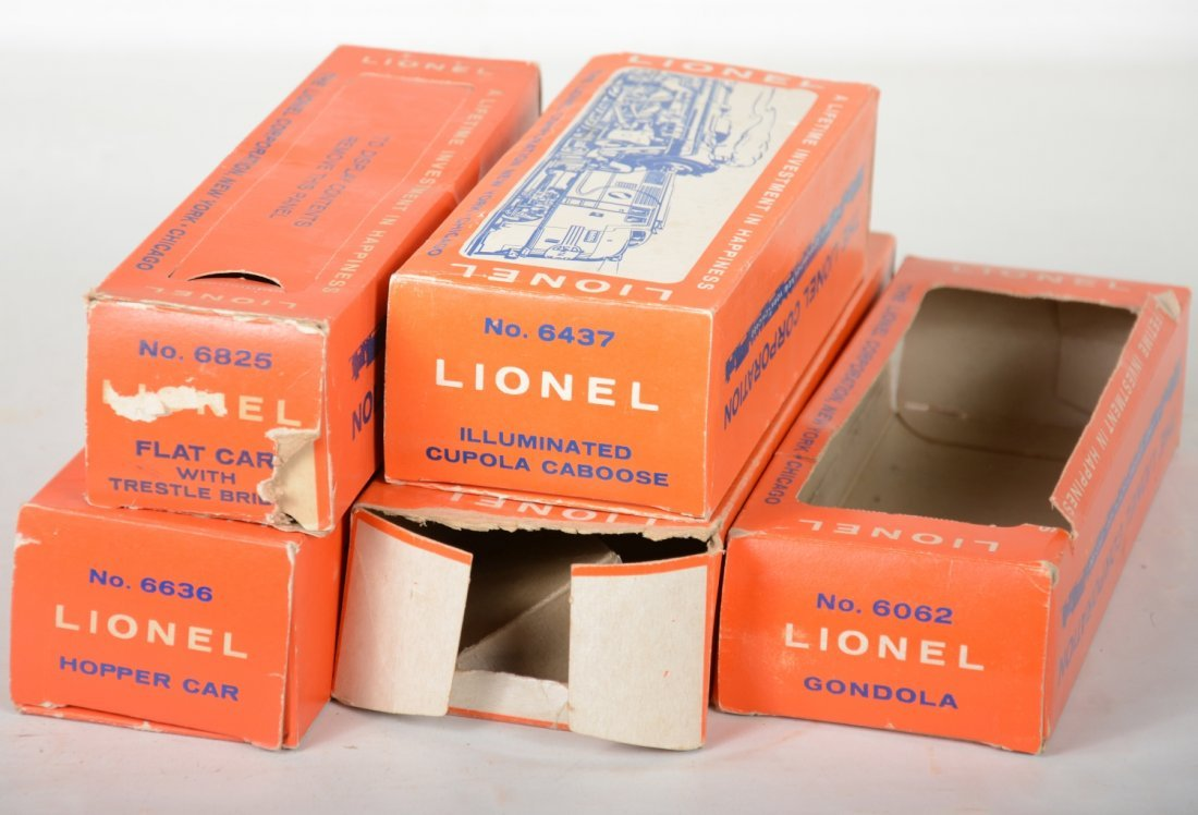 Boxed Late Lionel Freight Cars - 2