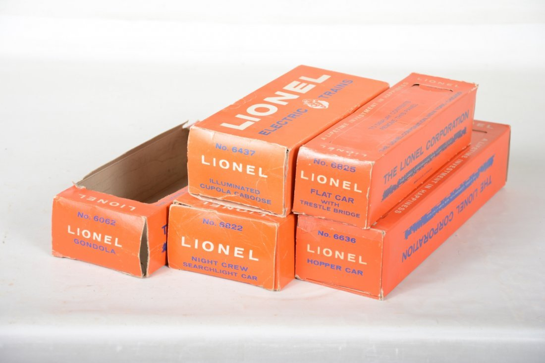 Boxed Late Lionel Freight Cars - 4