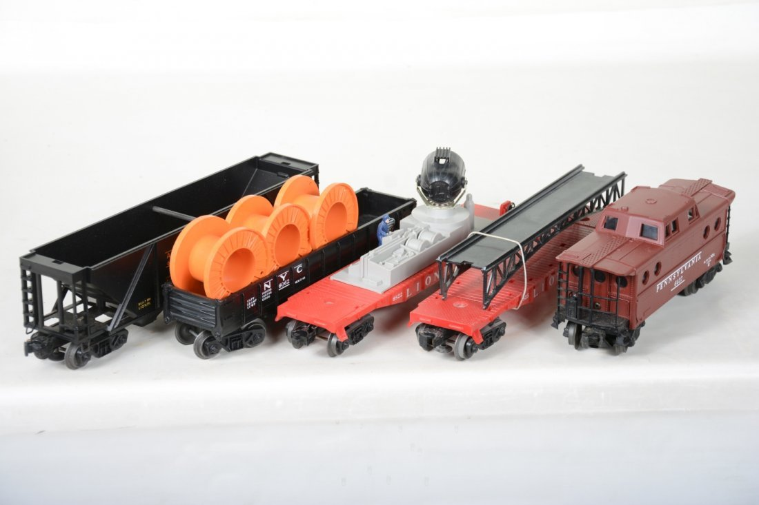 Boxed Late Lionel Freight Cars - 6