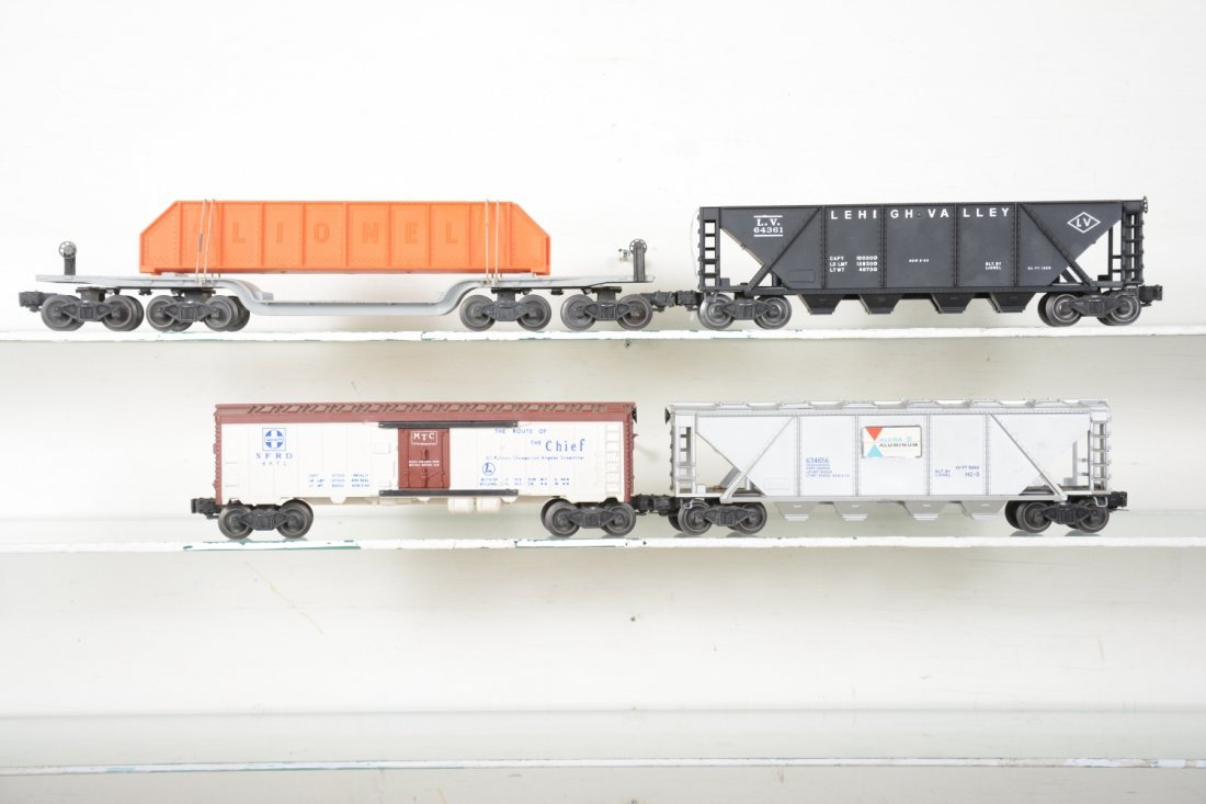 4 Boxed Lionel Freight Cars - 4