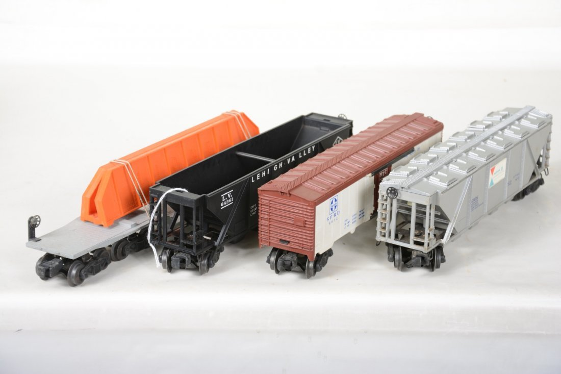 4 Boxed Lionel Freight Cars - 5