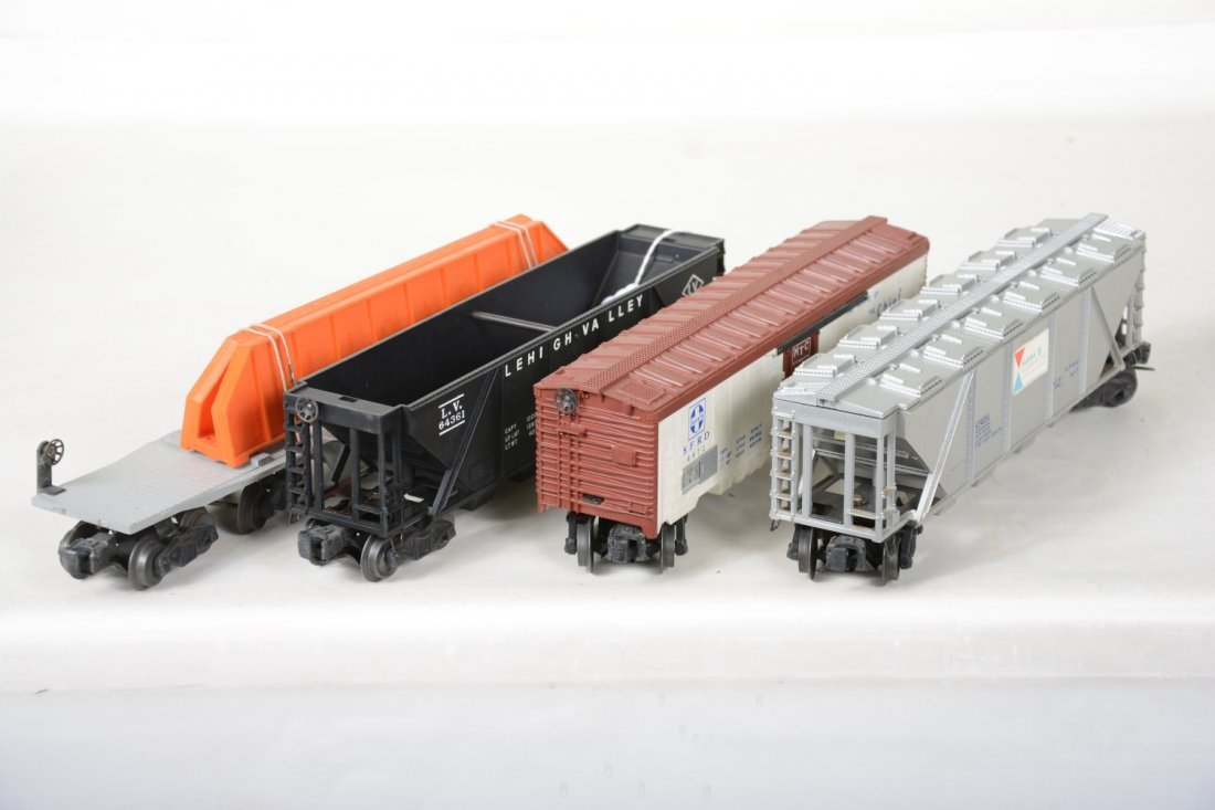 4 Boxed Lionel Freight Cars - 6
