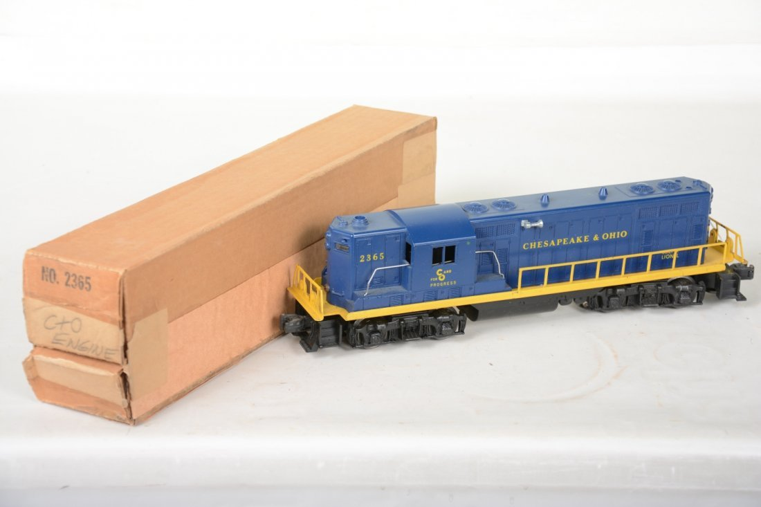 Boxed Lionel 2365 C&O GP7 Diesel