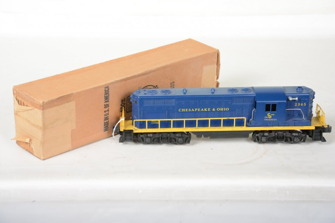 Boxed Lionel 2365 C&O GP7 Diesel - 2