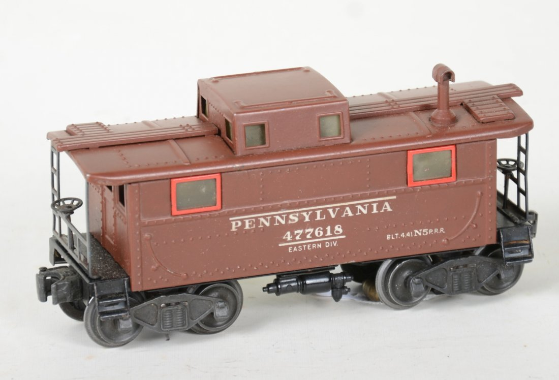 Scarce Lionel Brown 2457 PRR Caboose