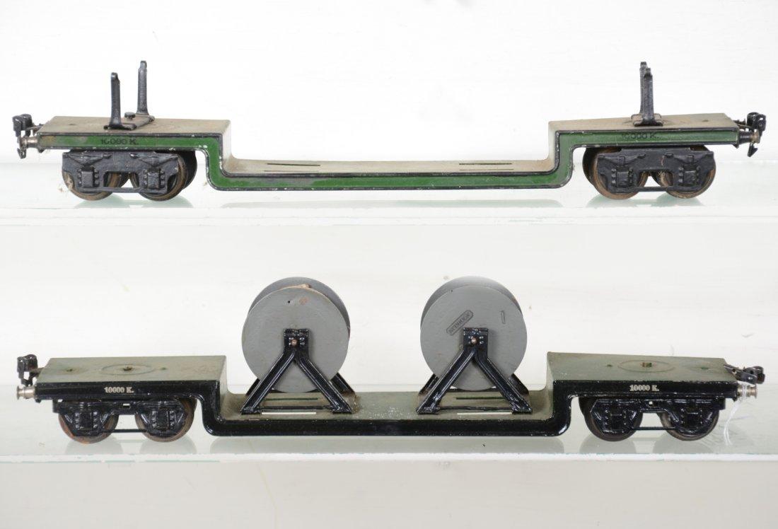 2 45cm Marklin 1955K/1 Low-Loaders