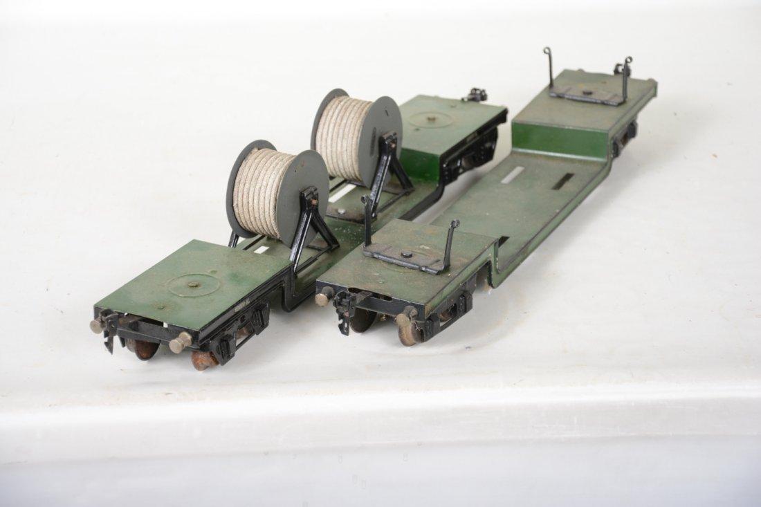 2 45cm Marklin 1955K/1 Low-Loaders - 4