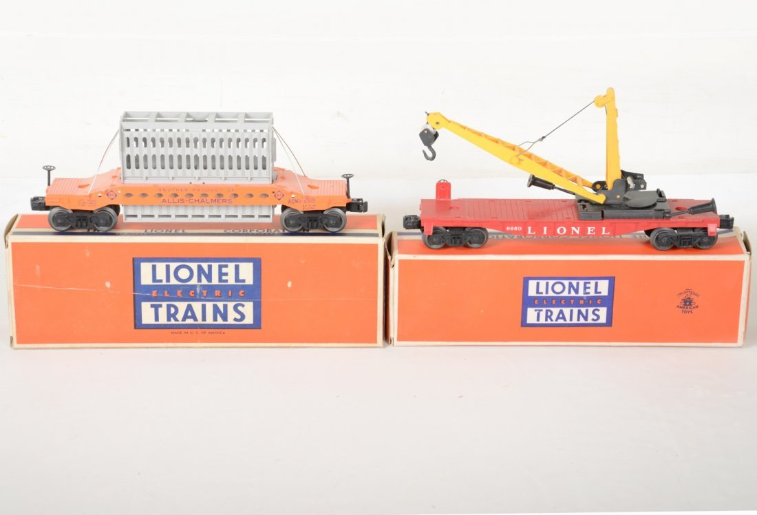 Nice Boxed Lionel 6519 & 6660 Freight Cars - 2
