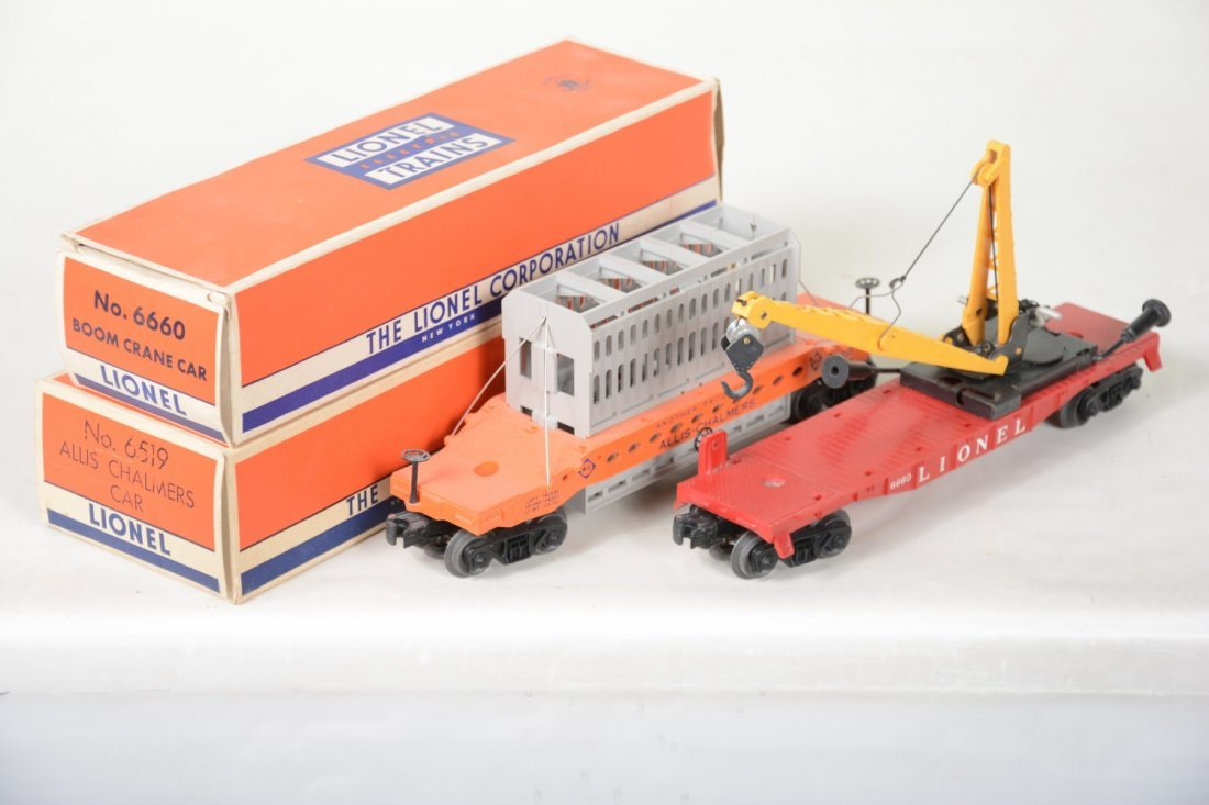 Nice Boxed Lionel 6519 & 6660 Freight Cars - 3