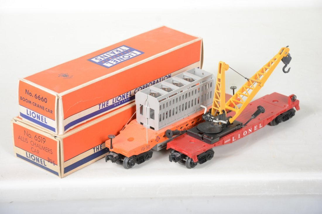 Nice Boxed Lionel 6519 & 6660 Freight Cars - 4