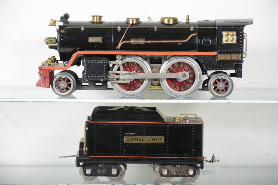 Clean Lionel 390E Steam Locomotive
