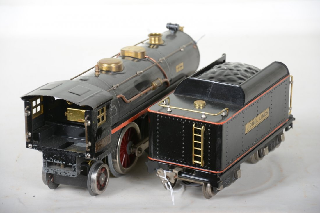 Clean Lionel 390E Steam Locomotive - 4