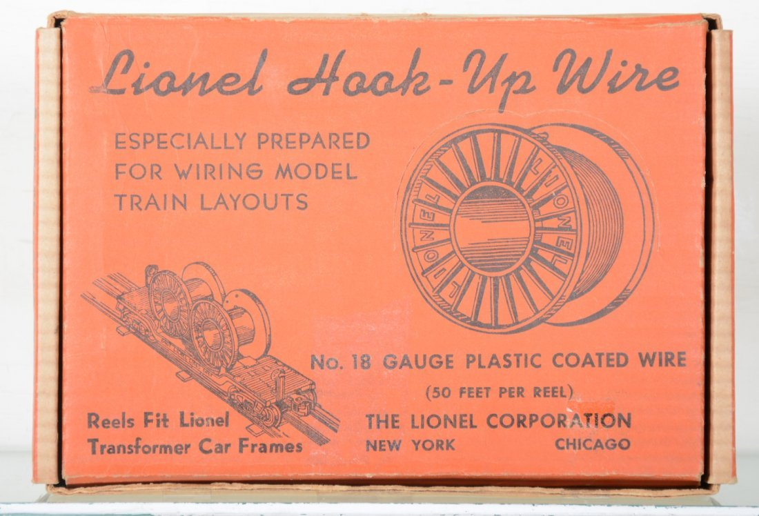 Boxed Lionel Dealer Display 40 Cable Reels
