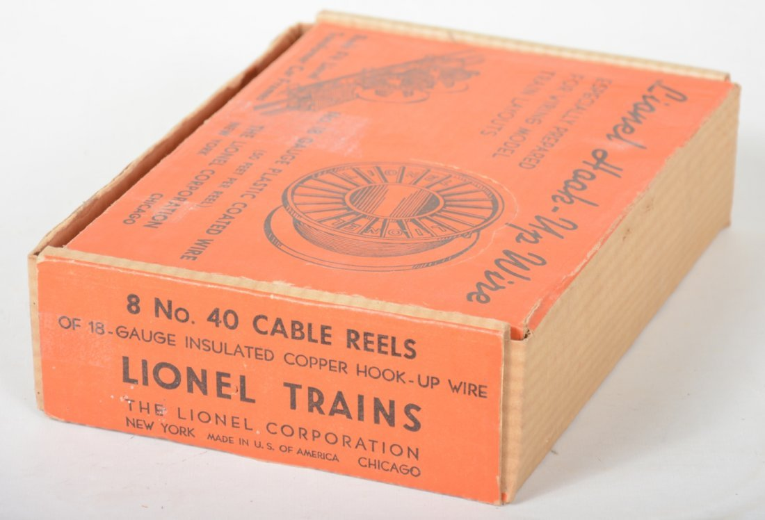 Boxed Lionel Dealer Display 40 Cable Reels - 3