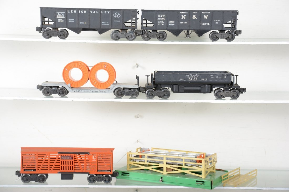 Boxed Lionel Freight Cars - 2