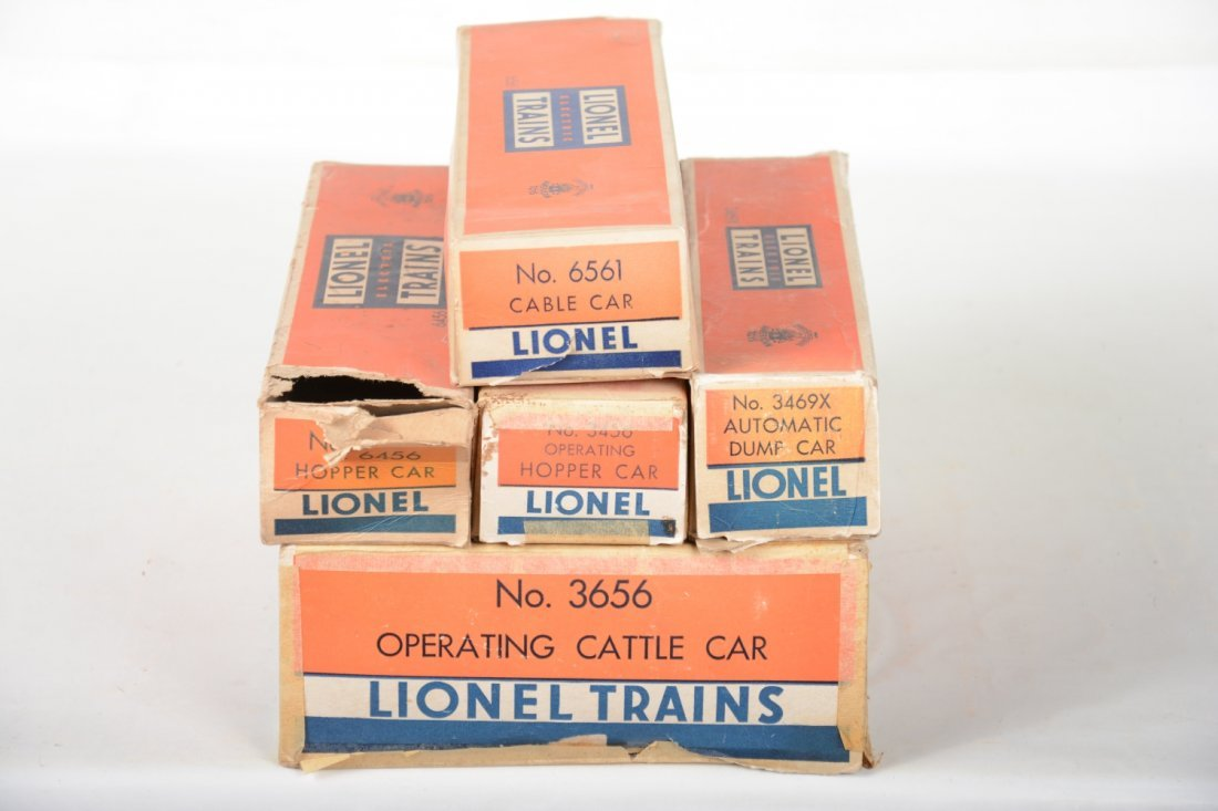 Boxed Lionel Freight Cars - 5